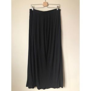 H&M Long Black Skirt